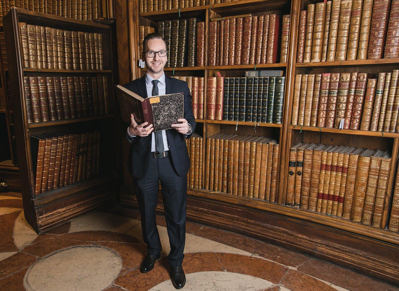 Kultur in der Nationalbibliothek mit Roland Schmid